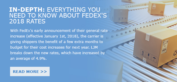 Fedex Rate Increase