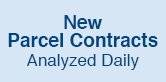 New Parcel Contracts Analyzed Daily