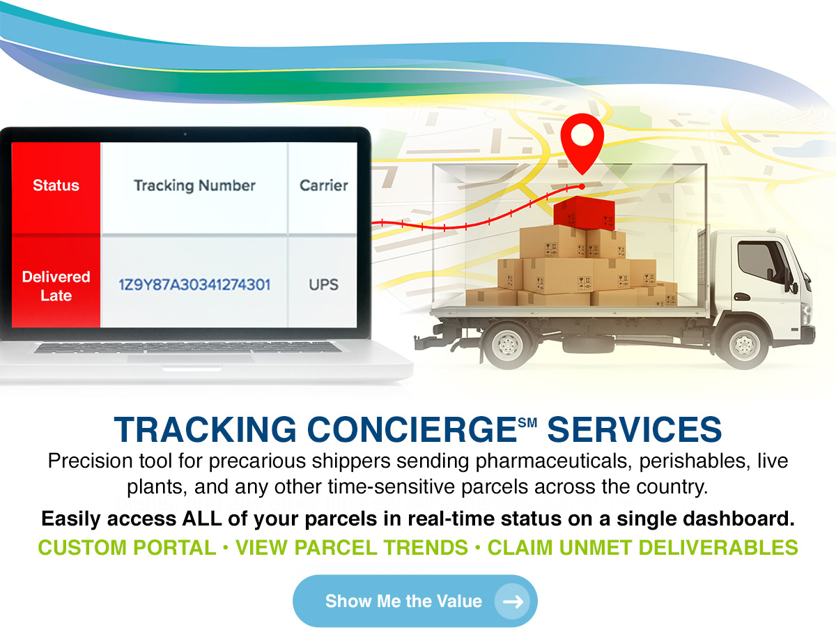 TRACKING CONCIERGE SERVICES