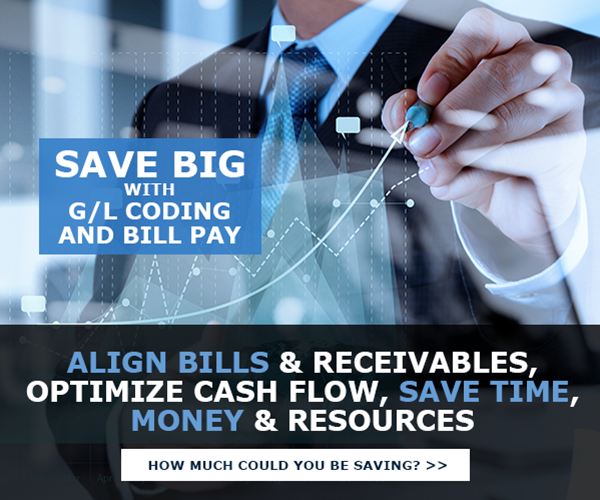 Save Big with GL Coding & Bill Pay