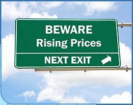 Rising Prices Beware
