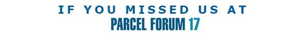 Parcel Forum 17