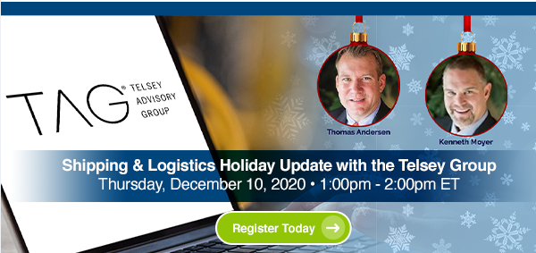 Shipping & Logistics Holiday Update - Register Today