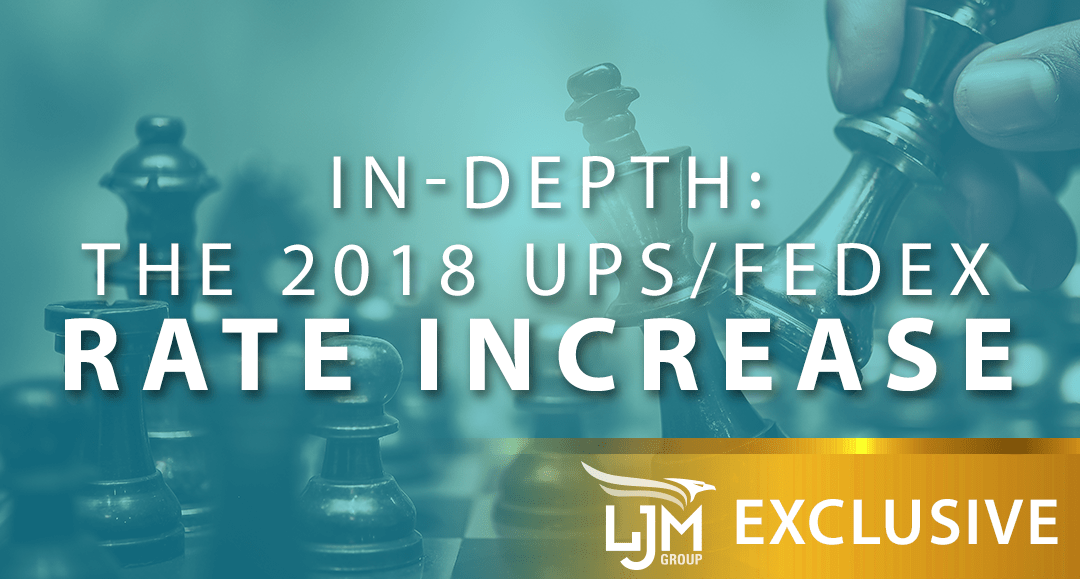 A Comprehensive Look Into The 2018 Upsfedex Rate Increase